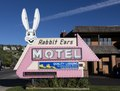 The Rabbit Ears Motel in Steamboat Springs, Colorado The clever name was not the inspiration of the motel's proprietors. It's borrowed from a nearby mountain pass of the same name LCCN2015633734.tif