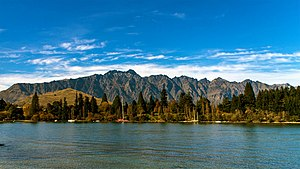 The Remarkables - The Remarkables mountain range, autumn 2015