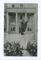 The Sacred Heart, St. Louis Academy, Pleasant Plains, Staten Island, N.Y. (statue in front of main entrance) (NYPL b15279351-104999).tiff