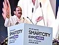 The Vice President, Shri M. Venkaiah Naidu addressing the inaugural session of the Smart City Expo India 2018, in Jaipur, Rajasthan on September 26, 2018.JPG
