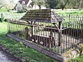 The Village Stocks, Wimborne St Giles - geograph.org.uk - 367863.jpg
