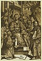 The Virgin and child surrounded by saints and kneeling donor - AA, in Mantova, MDCX. LCCN2008675419.jpg