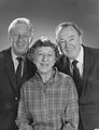The Wizard of Oz Ray Bolger Jack Haley Margaret Hamilton Reunited 1970 No 1.jpg