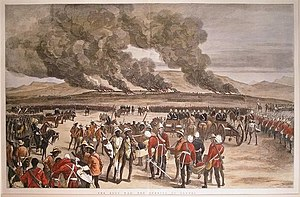 Battle of Ulundi - The Burning of Ulundi