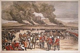 Battle of Ulundi - The Burning of Ulundi
