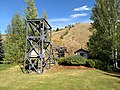The chairlift at Ruud - Proctor Mountain in Sun Valley, Idaho USA (one of the first chairlifts ever).jpg