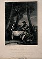 The death of Sir Phillip Sidney at the battle of Zutphen. Li Wellcome V0015282.jpg