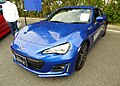 The frontview of Subaru BRZ S (DBA-ZC6) with optional parts.jpg