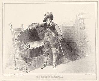 John Doyle (artist) - Image: The modern cromwell by DOYLE, JOHN (MONOGRAMMIST HB) GMII