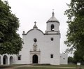 The re-created Nuestra Senora del Espiritu Santo De Zuniga Mission, near the famous, oft-captured Presidio La Bahia in Goliad, Texas LCCN2014633552.tif
