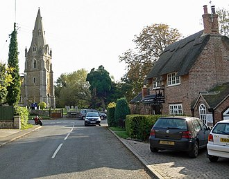 Muston, Leicestershire - Image: The village of Muston, Leicestershire geograph.org.uk 1038546