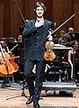 The violinist Oleksandr Pushkarenko during the final stage of 55° Premio Paganini 2018 in Genoa.jpg