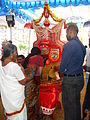 Thiruvappana giving blessing.JPG