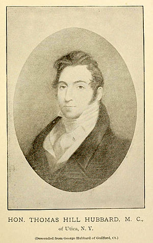New York's 17th congressional district - Image: Thomas Hill Hubbard portrait