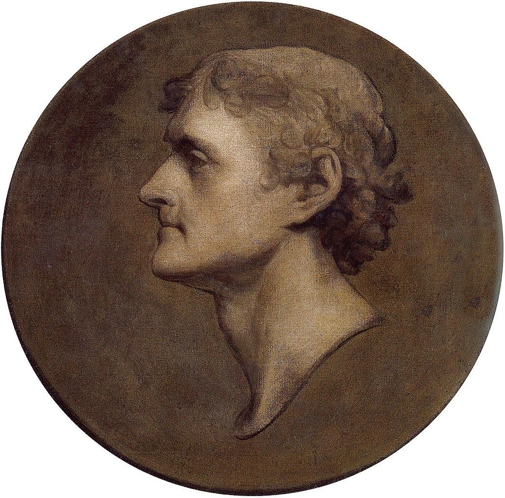 File Thomas Jefferson Medallion Portrait By Gilbert Stuart 1805 Jpg Wikimedia Commons