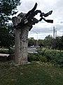 Three Spring memorial by Gyula Illés, Kecskemét 2016 Hungary.jpg