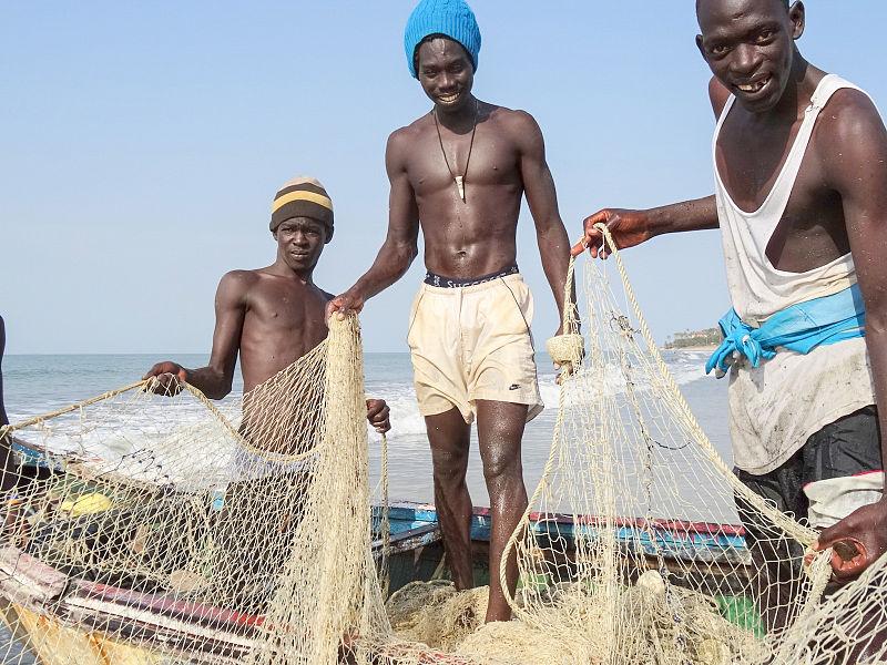 Fishermen Gambia
