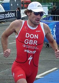 Tim Don British triathlete