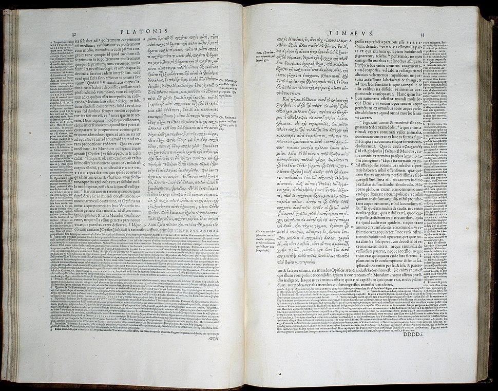 Timaeus stephanus pages 32 33