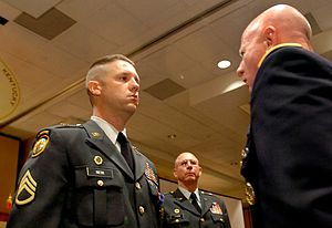 Distinguished Service Cross (United States) - SSG Timothy Nein receiving the Distinguished Service Cross