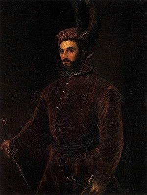 Ippolito de' Medici - Portrait of Ippolito de' Medici by Titian.