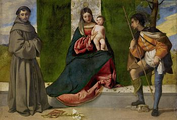 Titian - The Virgin and Child between Saint Anthony of Padua and Saint Roque - Prado.jpg