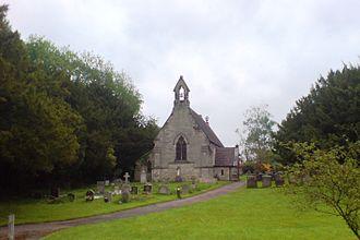 Tixall - The church of St John the Baptist, Tixall, May 2008