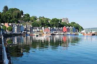 Mull - Tobermory waterfront