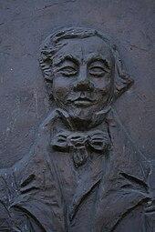 Tobias Haslinger, Gedenkstein am Geburtshaus in Bad Zell (Quelle: Wikimedia)