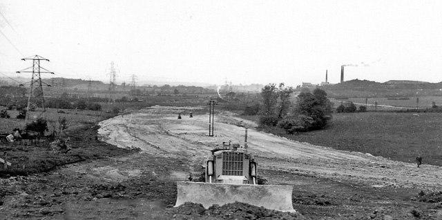 Toddington - M1 Motorway under construction 1725951 0d6f8279