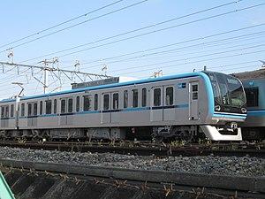 Tokyo Metro 15000 series - Image: Tokyo Metro 15101 Fukagawa 20100417