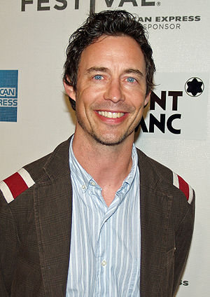 Tom Cavanagh - Cavanagh at the premiere of War, Inc. at the 2008 Tribeca Film Festival, April 28, 2008