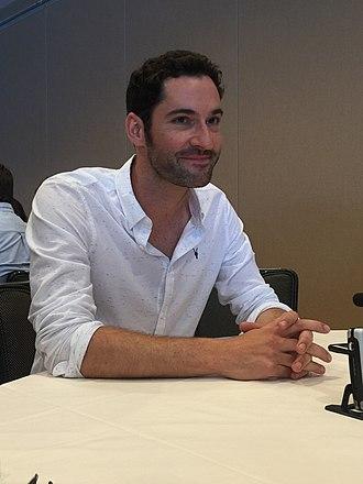 Tom Ellis (actor) - Tom Ellis at 2015 San Diego Comic-Con