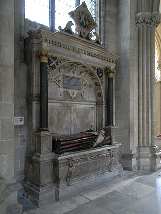 John Still - Monument to Bishop John Still in Wells Cathedral