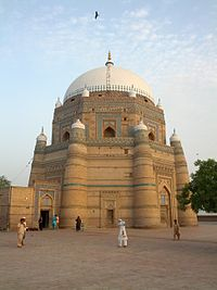 Tomb Of Shah Rukn E Alam In Multan