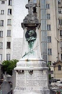Tombe Paul Dalloz, Cimetière d'Auteuil, Paris.jpg