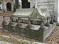 Tombe du peintre Horace Vernet, cimetière de Montmartre 03.JPG