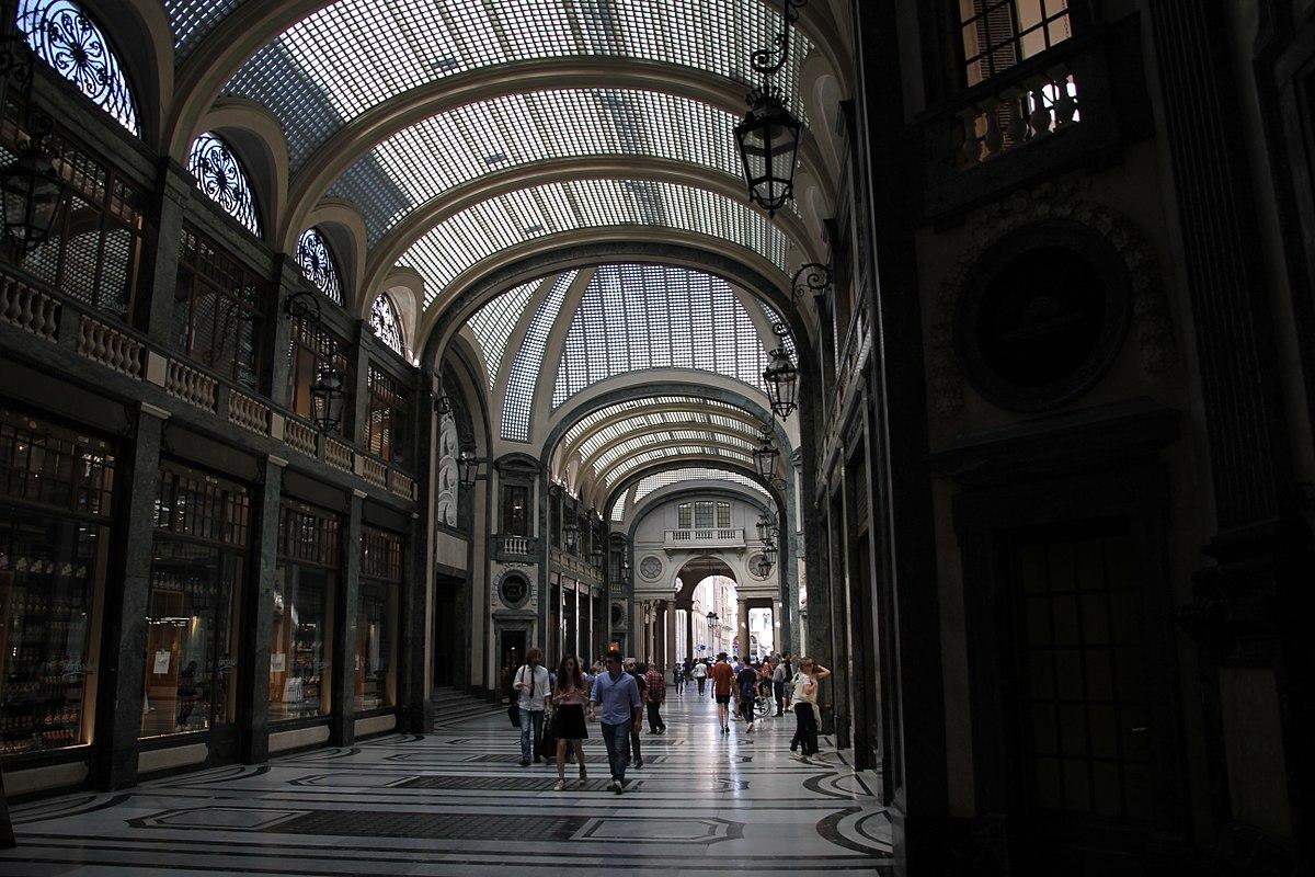 Ristorante La Credenza Galleria San Federico : Galleria san federico u2014 wikipédia