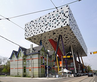 Grange Park (neighbourhood) - OCAD University's Sharp Centre for Design. The university's campus is located in The Grange.