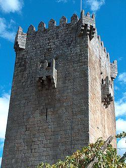 A Torre de Quintela (torre do século XIII)