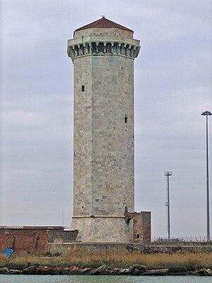 Marzocco - The Torre del Marzocco in Livorno.