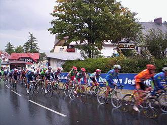 Tour de Pologne - The peloton in the 2004 Tour of Poland