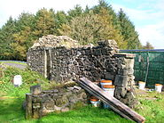 Tower Cottage ruins