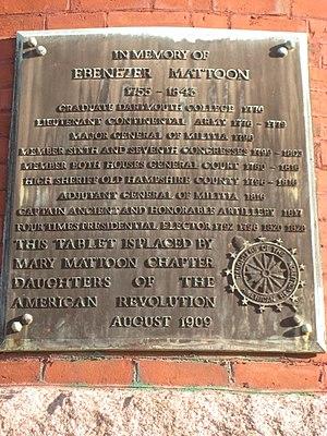 Ebenezer Mattoon - Image: Town Hall (Amherst, Massachusetts) IMG 6531