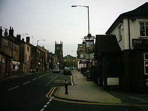 Farsley - Image: Town Street, Farsley