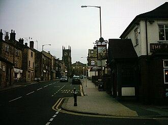 Farsley - Image: Town Street, Farsley