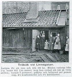 Träkåk ved Linnegatan 1903. jpg