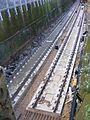 Track lowering, Gospel Oak to Barking line, Walthamstow (32753247935).jpg
