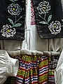 Traditional Woven and Embroidered Woman's Dress - History and Archaeology Museum - Novi Zamak (Old Castle) - Grodno - Belarus (27673838572).jpg