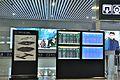 Train information board in the arrival floor of Ningbo Railway Station.jpg